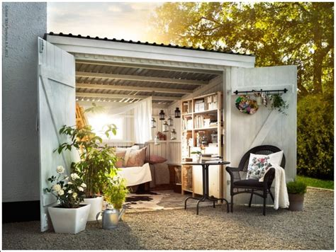 Shed Retreats by Transform Your Garden Shed Or Greenhouse Into A Relaxing