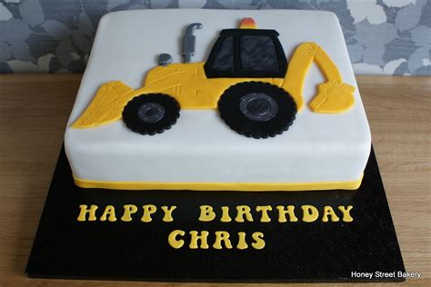 digger cake template digger jcb excavator birthday cake bambino birthday