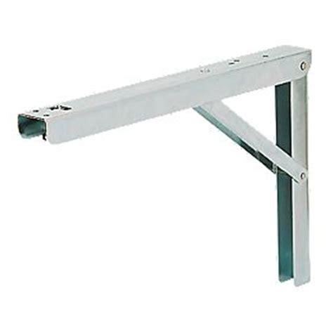 Folding Shelf Bracket Uk by Adjustable Folding Bracket Silver 400 X 272mm 2 Pack
