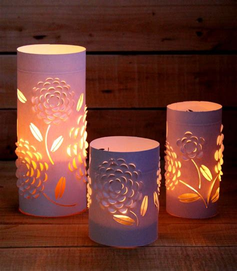 How To Make Paper Lanterns For Candles - diy dimensional paper lantern a of rainbow