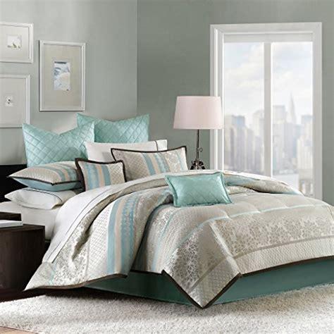 aqua king comforter sets park 8 comforter set aqua king