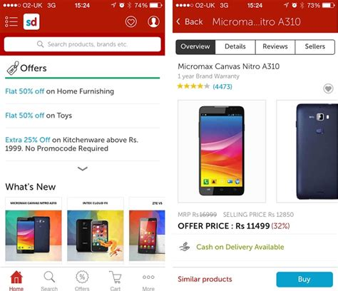 snapdeal mobile app coupons snapdeal voucher codes and offers 2017