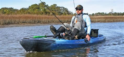 fishing boat vs kayak kayak fishing pedal vs paddle the ack blog