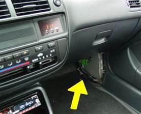 97 honda accord transmission computer location 97 get