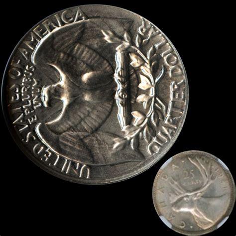 1970 s proof washington quarter struck on 1941 canada