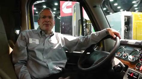 freightliner cascadia evolution interior  mid america trucking show  youtube
