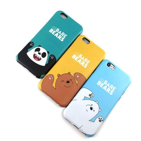 Iphone 6 6s Disney Korean 360 Soft Silicone Back Cover korean we bare cover for iphone 6