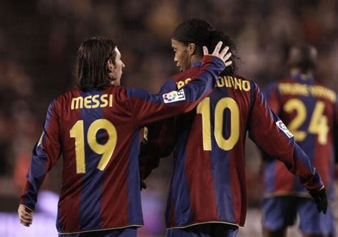 Sania Blouse By Dieeko how lionel messi got the number 10 shirt from ronaldinho at barcelona
