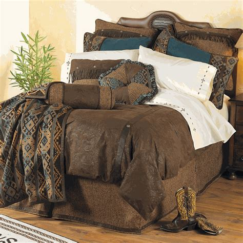 Lonestar Decor by Western Bedding King Size Bed Set Lone