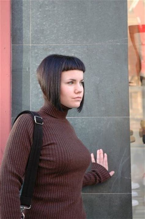 severe bob hairstyle bobs and passion on pinterest