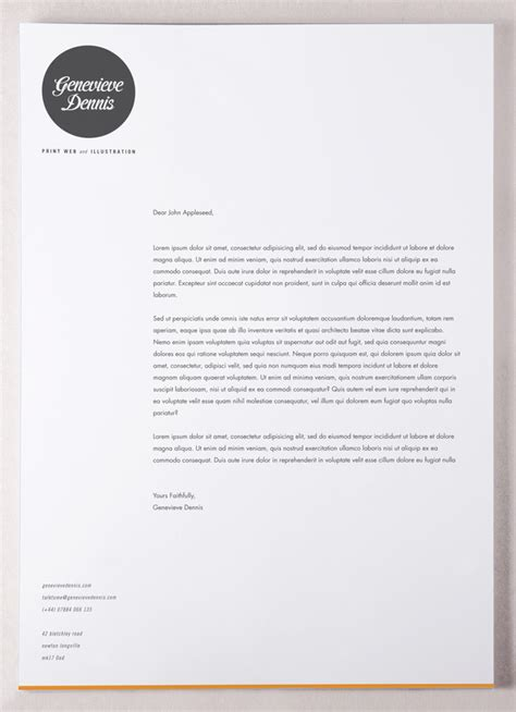 Promotion Letter Design 10 Modern Letterhead Designs For Inspiration Design Stationery Promotion And