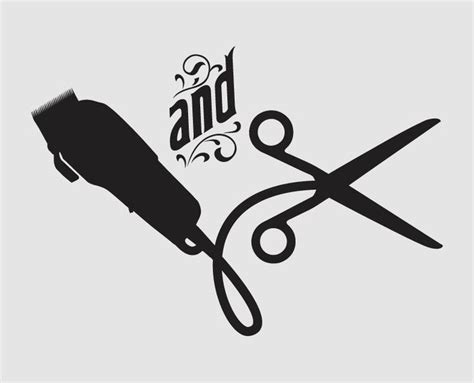 Hairstyle Tools Designs For Silhouette Cameo by Hair Salon Scissors Logos Search S