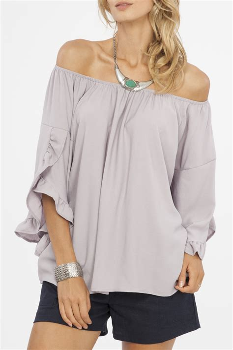 Blouse Simply Line lizzy the shoulder blouse call me california