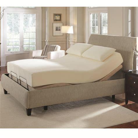 king size adjustable bed pinnacle premier bedding adjustable bed base cal king