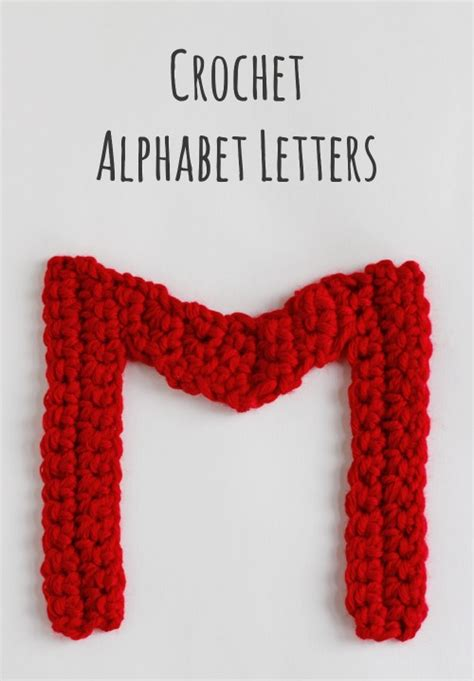 pattern making letters crochet a day crochet alphabet letters make and takes