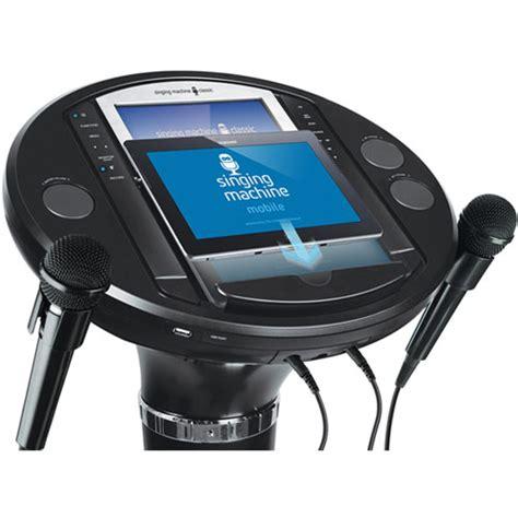 Singing Machine Ism1050bt Bluetooth Pedestal Karaoke System singing machine ism1050bt bluetooth 174 digital audio karaoke pedestal system