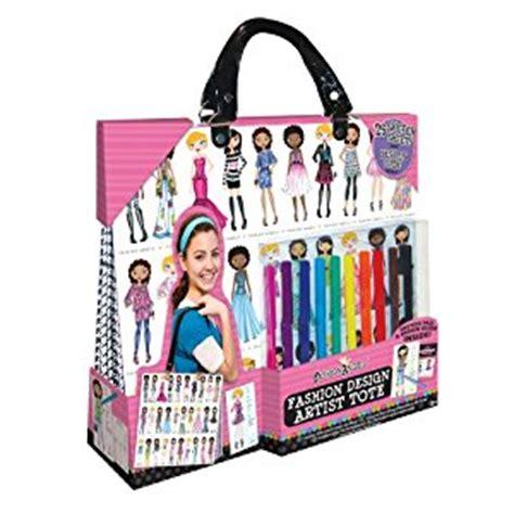 fashion design kits for 12 year olds amazon com fashion design artist tote toys games