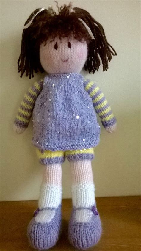 Handmade Knitted Dolls - 285 best ideas about dolls on free pattern