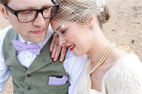 Vintage Wedding Hair And Makeup Glasgow by Vintage 1950s Inspired Humanist Wedding In Scotland