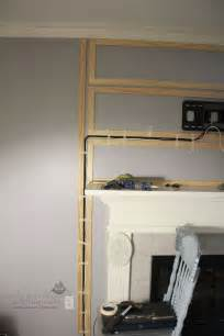 mount tv above fireplace hide wires 25 best ideas about hiding tv wires on hide