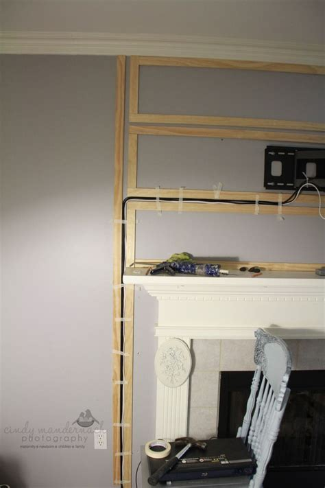 Mount Tv Above Fireplace Hide Wires by 25 Best Ideas About Hiding Tv Wires On Hide