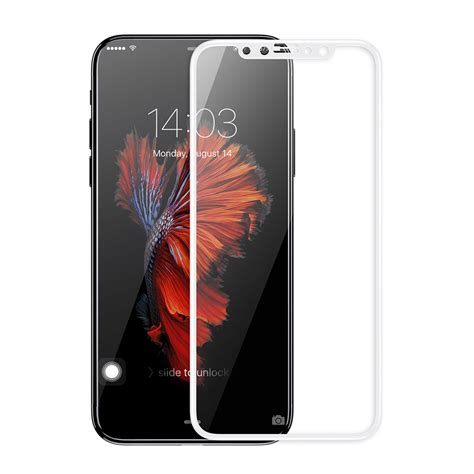 iphone 3d smart iphone x genuine gex ultra 3d tempered glass screen protector