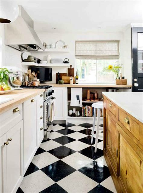black and white tile designs for kitchens 33 inspired black and white kitchen designs decoholic