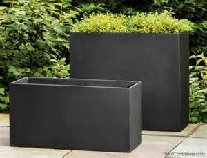 fusion collection rectangular planters 11 75 quot wide