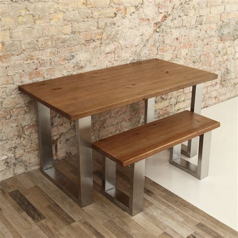 u shaped stainless steel legs dining table cosywood co uk