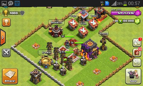 download game coc mod flame wall cheat coc clash of clans terbaru work gems mod hack gold