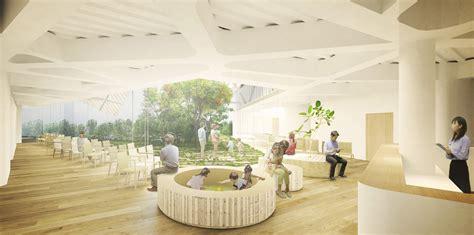 inside home design lausanne kengo kuma presenta dise 241 o de quot hospital verde quot para tokio
