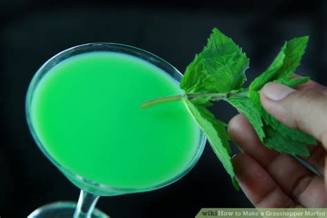 martini grasshopper how to a grasshopper martini 12 steps with pictures