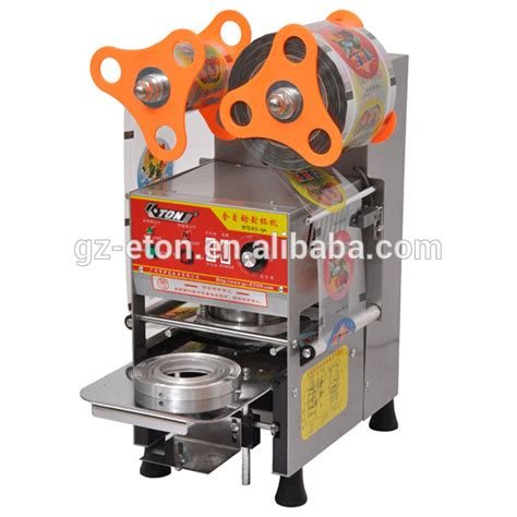 Sale Cup Sealer Thunder Dt D8 eton et b7 semi automatic cup sealing machine buy semi automatic cup sealing machine