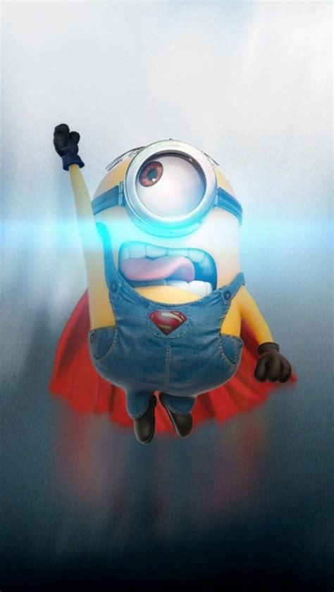 minions wallpaper for iphone 5 hd ミニオン スーパーマン iphone5 5s 5c壁紙とiphoneseの壁紙 goiphonewallpapers