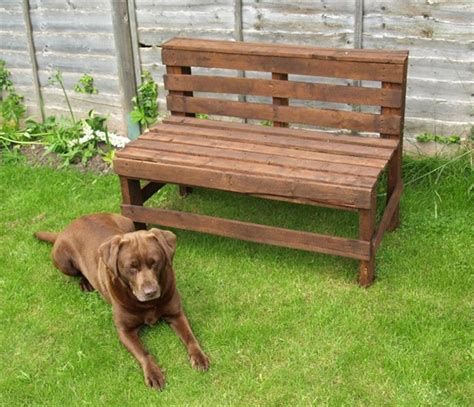 wood pallet benches 10 pallet bench for your backyard pallet furniture plans