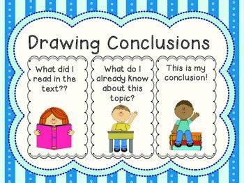 picture books for drawing conclusions watchung borough school district