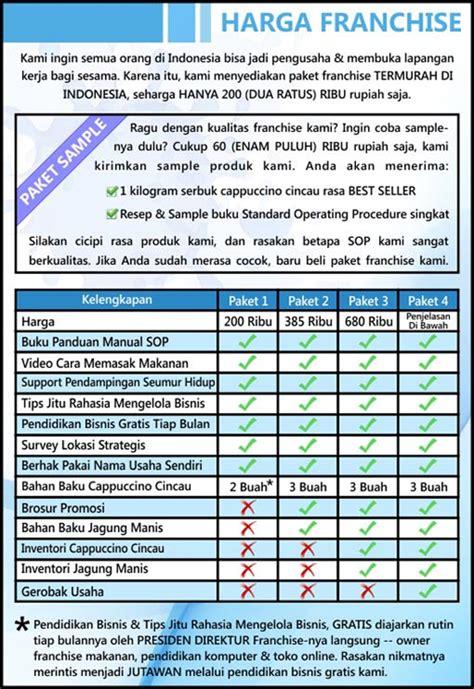 daftar franchise indonesia 2015 d java racha info top firmax 3 homestay jogja