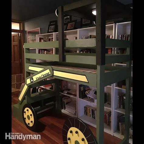 john deere bunk bed 21 bunk bed designs and ideas the family handyman