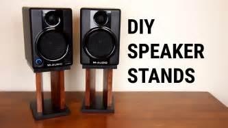 Bookshelf Speakers Computer Desk Diy Speaker Stands
