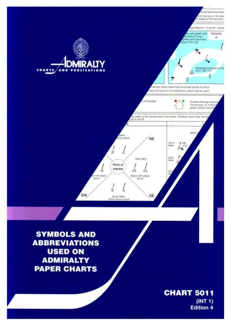 Symbol And Abbreviations Used On Admiralty Paper Char symbols abbreviation on admiralty paper charts ba 2008