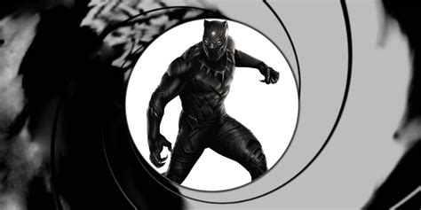 The Bond Of Black black panther is marvel s bond screen rant