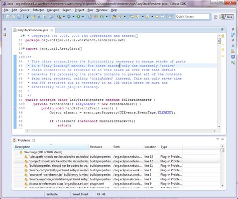 html layout editor eclipse eclipse platform what s new in 4 0