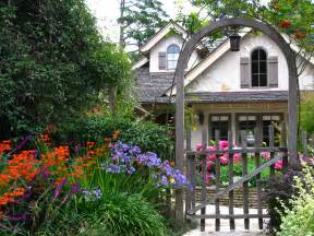 Small Cottage Gardens - carmel s cottage gardens once upon a time tales from carmel by the sea