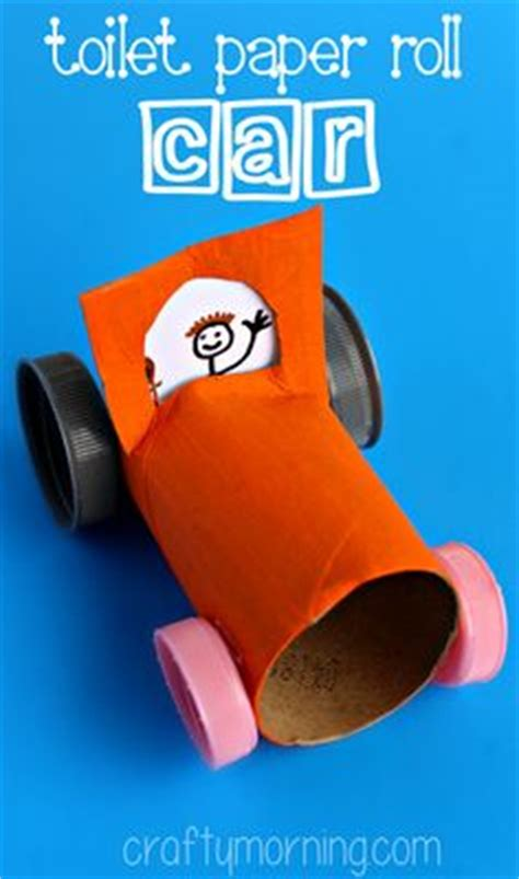 Toilet Paper Roll Car Craft - diy paper roll dinosaur by krokotak crafts toilet