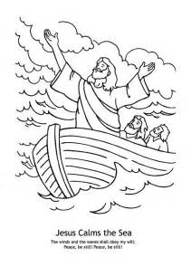 jesus calms the coloring page jesus calms the coloring pages az coloring pages