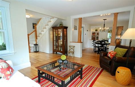 bungalow living room a craftsman style bungalow makeover in maine by sopo cottage