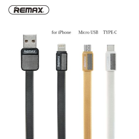 Remax Speed Usb Cable For Smartphone 200 Cm for iphone usb cable android mobile micro usb cable type c usb cable fast charging cables data
