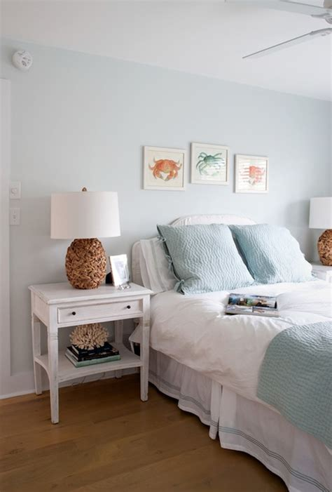 blue walls bedroom cottage bedroom benjamin fanfare erica burns interiors