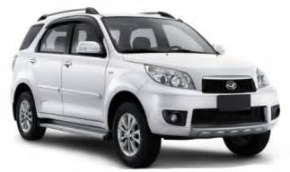 Harga Mobil Daihatsu Terios Harga Mobil Daihatsu Terios 2015 Dan Spesifikasinya