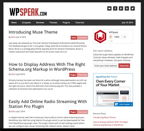 wordpress templates for articles 22 of the best wordpress blogs you don t want to miss